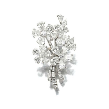 Diamond brooch, Van Cleef & Arpels