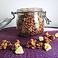 Granola muesli coco, ananas et miel