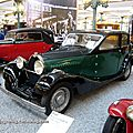 Bugatti type 49 berline de 1934 (Cité de l'Automobile Collection Schlumpf à Mulhouse) 01