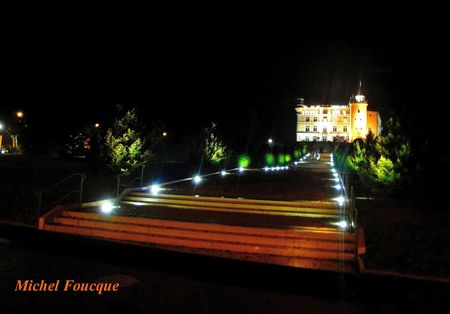 1) Décembre 2012 nouvel éclairage château