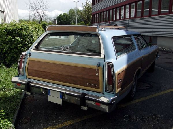 ford ltd country squire 1975 1978 b