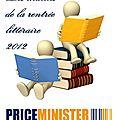 Les matchs de la rentrée littéraire 2012 chez priceminister