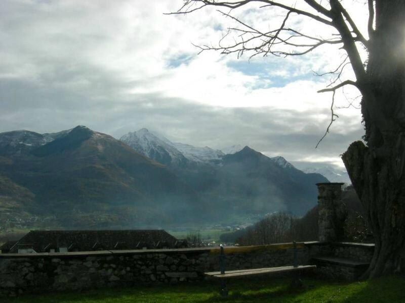 2009-12-31, vue depuis l'abbaye de St Savin