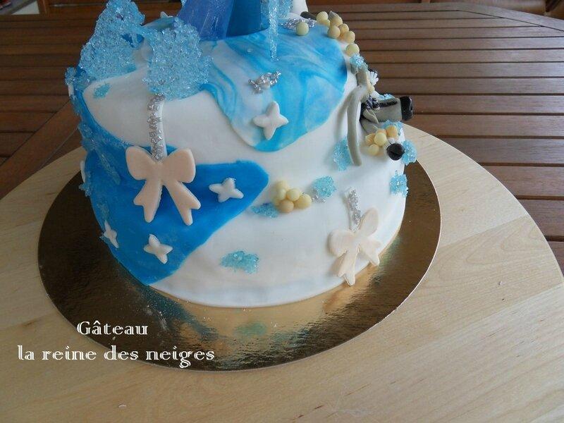 gâteau la reine des neiges2