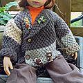 La veste en patchwork de laine ( + tuto offert)