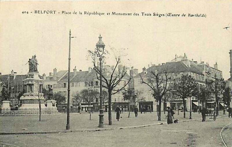 CPA Belfort Place de la République