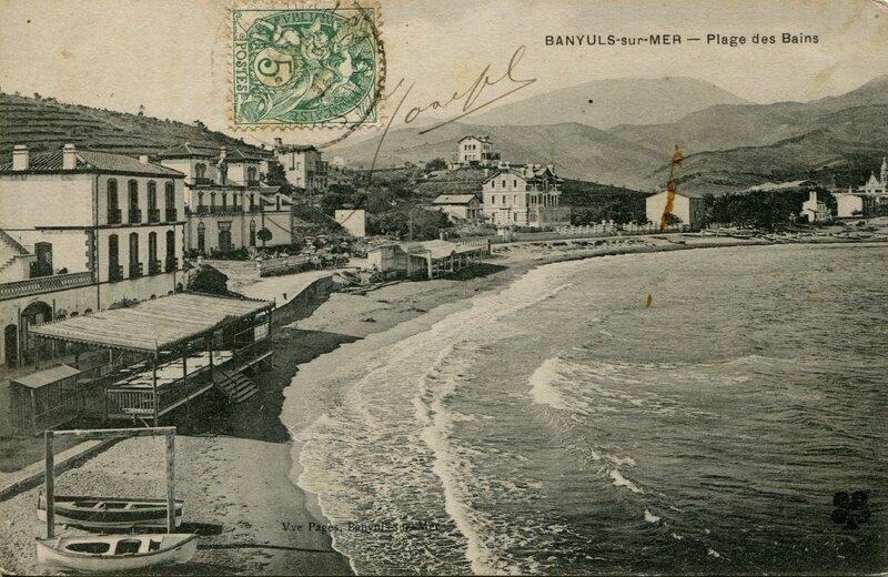 243 Plage des Bains 1907