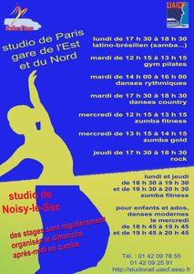 Studiorail activites 2012