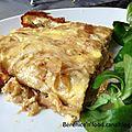Recette n°34: la véritable tortilla à la pomme de terre.