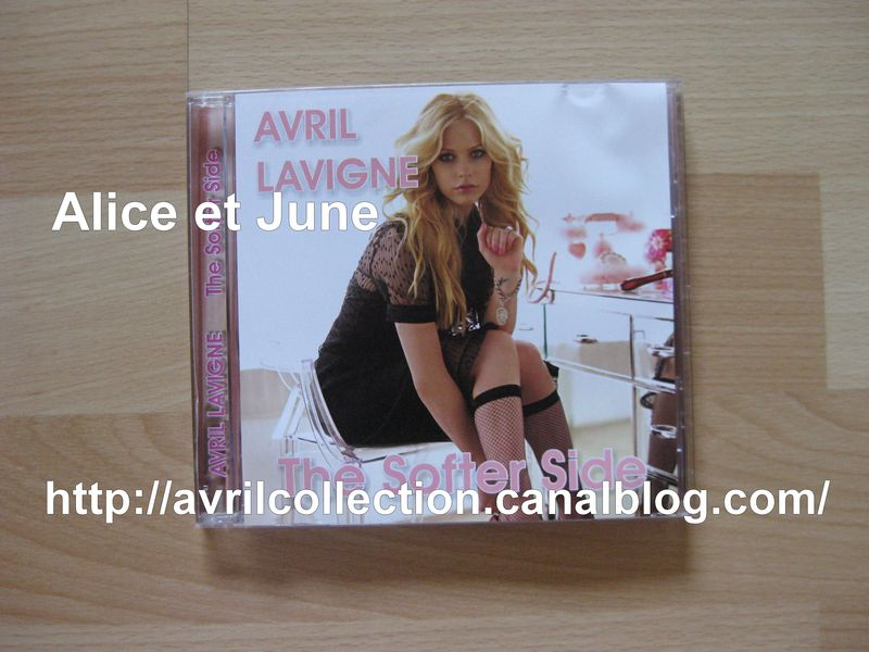 CD Russe Avril Lavigne The Softer Side (2009)
