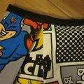 Jupe BRIGITTE en toile de coton imprimé bande dessinée (3)