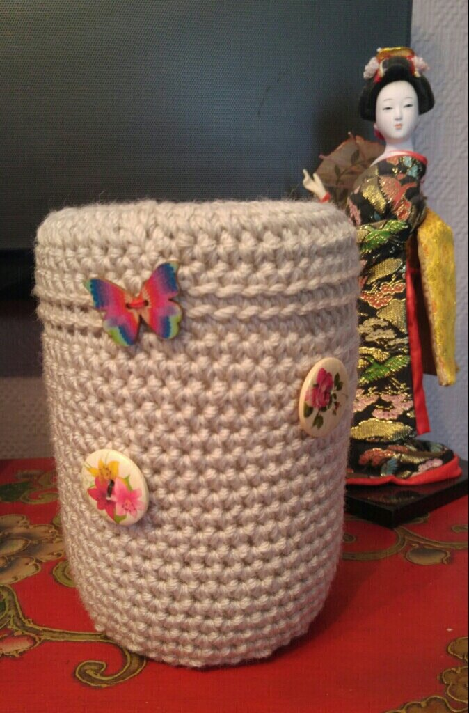 Conserve devenue vase...
