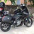 Noiraude,ma moto