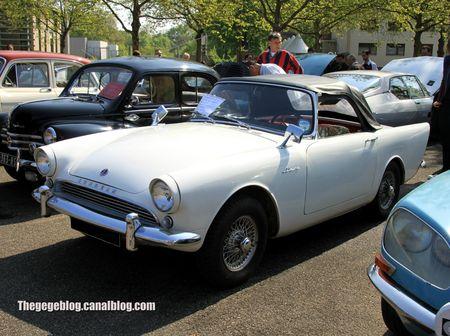 Sunbeam alpine série 2 convertible de 1962 (Retrorencard mai 2013) 01