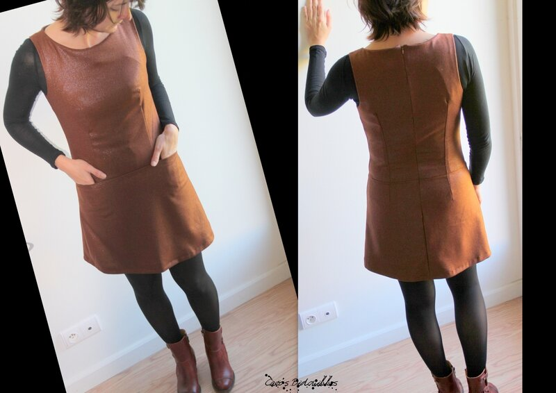 Dressing chic - robe trapèze-001