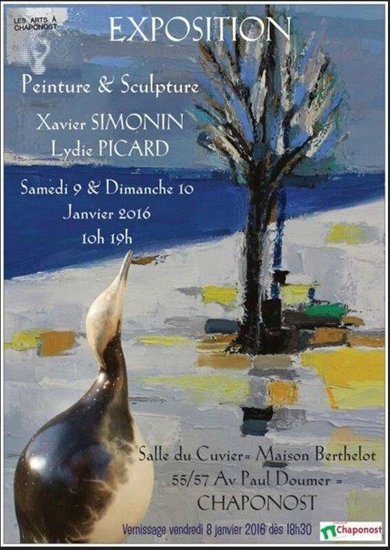 expo CHAPONOST 9-10 JANVIER 2016