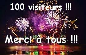 100 vsiteurs