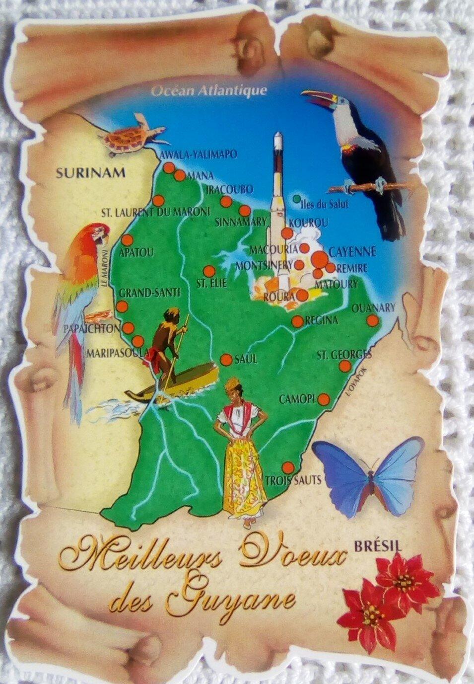 00 Guyane datée 2003