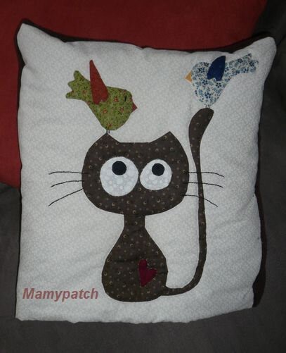 coussin chat