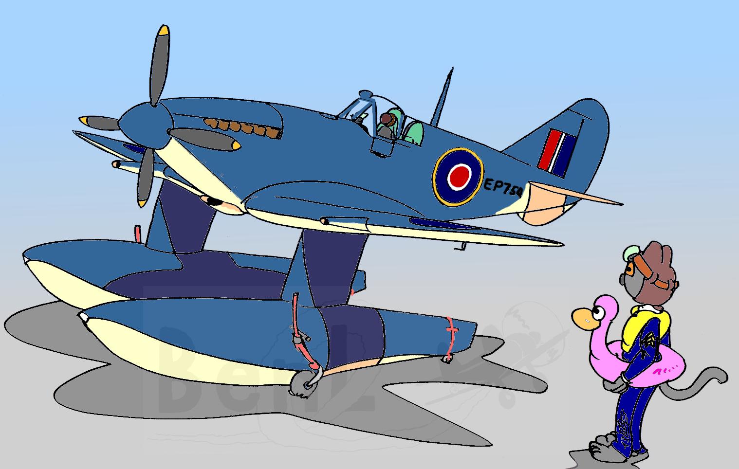 Spitfire à flotteurs