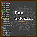 World doula week... la doula en 10 questions