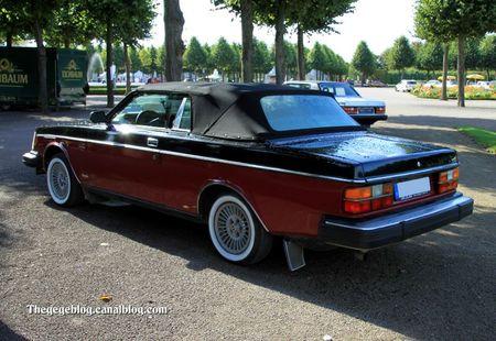 Volvo 262 cabriolet de 1981 (9ème Classic Gala de Schwetzingen 2011) 03