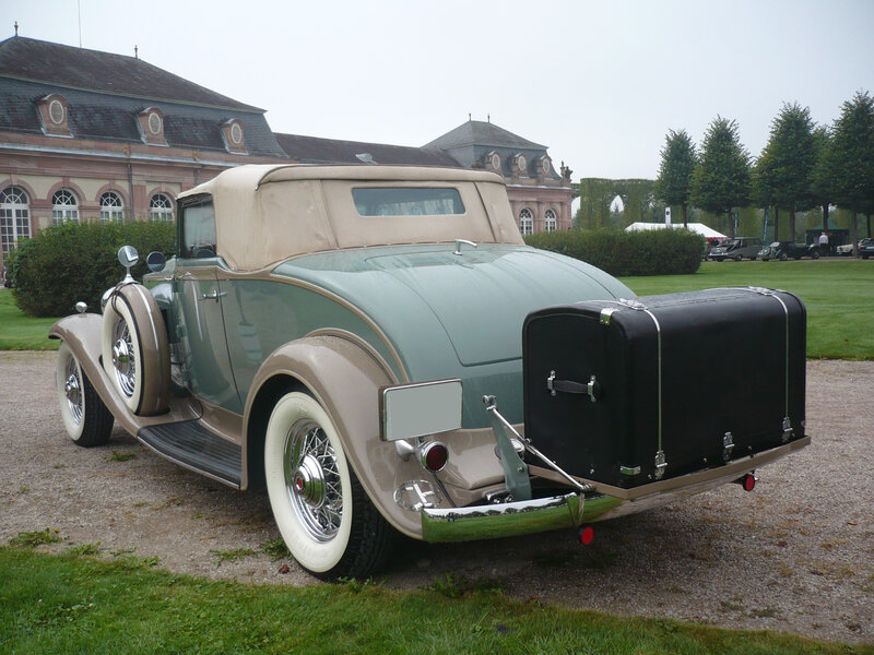 PACKARD Light Eight Model 900 coupé roadster 1932 Schwetzingen (2)