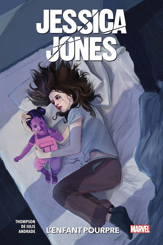 100% marvel jessica jones V2 02 l'enfant pourpre