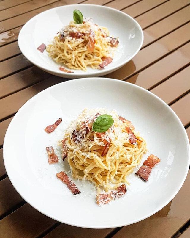 carbonara cathytutu cyril lignac chef zanoni simone tous en cuisine