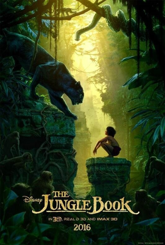 affiche du livre de la jungle 2016
