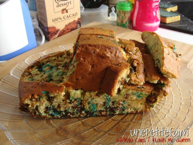 Gâteau Flash Mc Queen - découpe 7