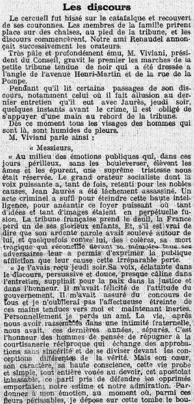 Jaurès discours Viviani1