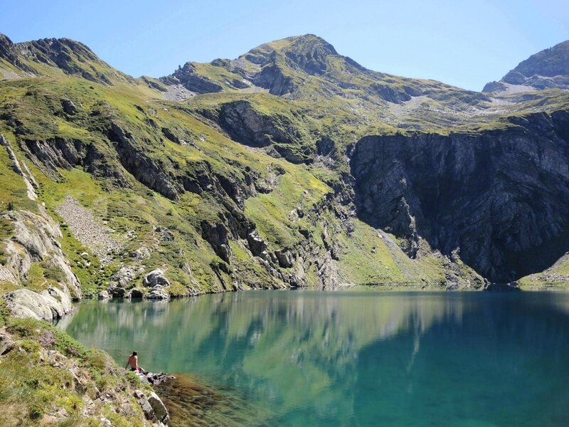 Lac d'Isabe, solitude (64)