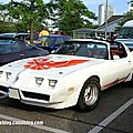 Pontiac trans am (Rencard Burger King juin 2014) 01