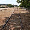 Plan d'Orgon (Bouches-du-Rhône - 13) gare détruite