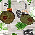 Muffins pesto tomate cerise