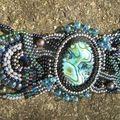bracelet free form abalone