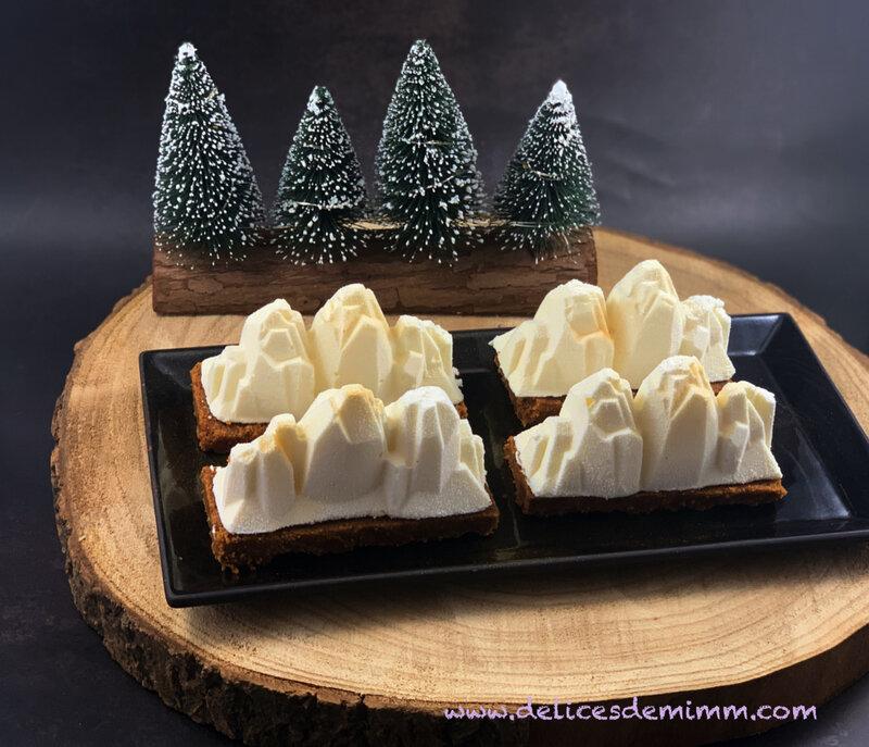 Bûches de Noël individuelles façon cheesecake (sans cuisson) 5