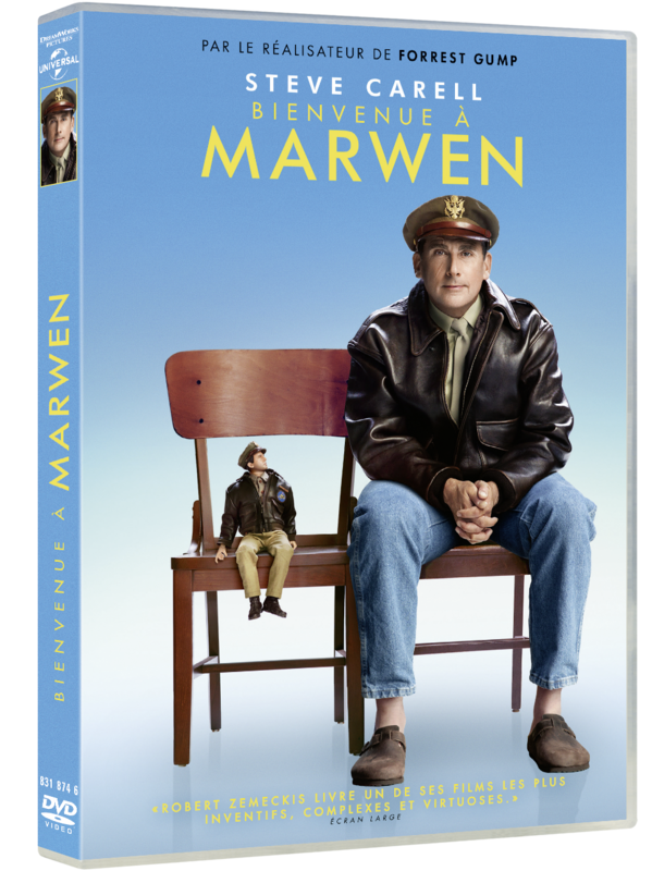 Welcome to Marwen France DVD_3D