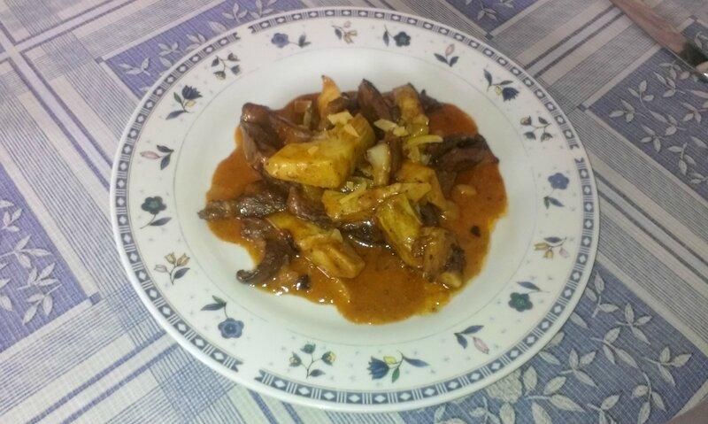 Coeurs de veau et d'artichauts poêlés au gingembre et citron confit