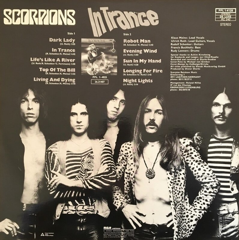 Scorpions - In Trance2