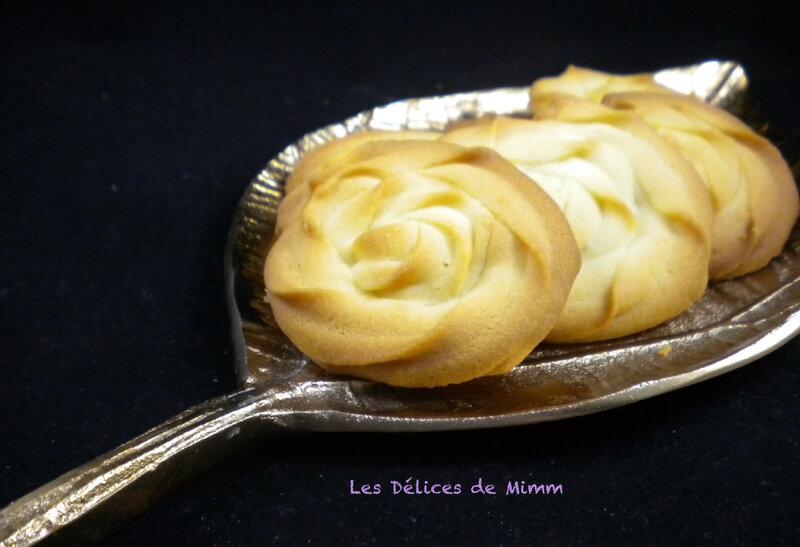 Les sablés viennois avec ou sans chocolat 2