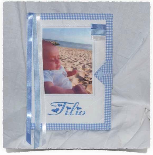 Protège carnet de santé PHOTO bébé personnalisé