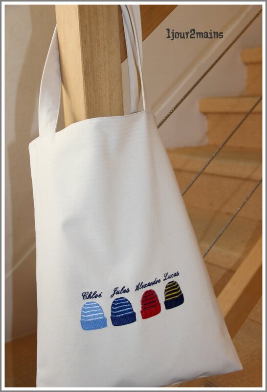 totebag 4 bonnetsenfants