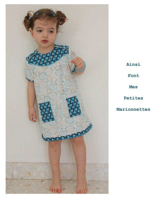 robe turquoise 6