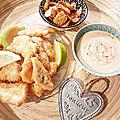 ...fish'n chips de cyril lignac dans tous en cuisine, 2eme édition...