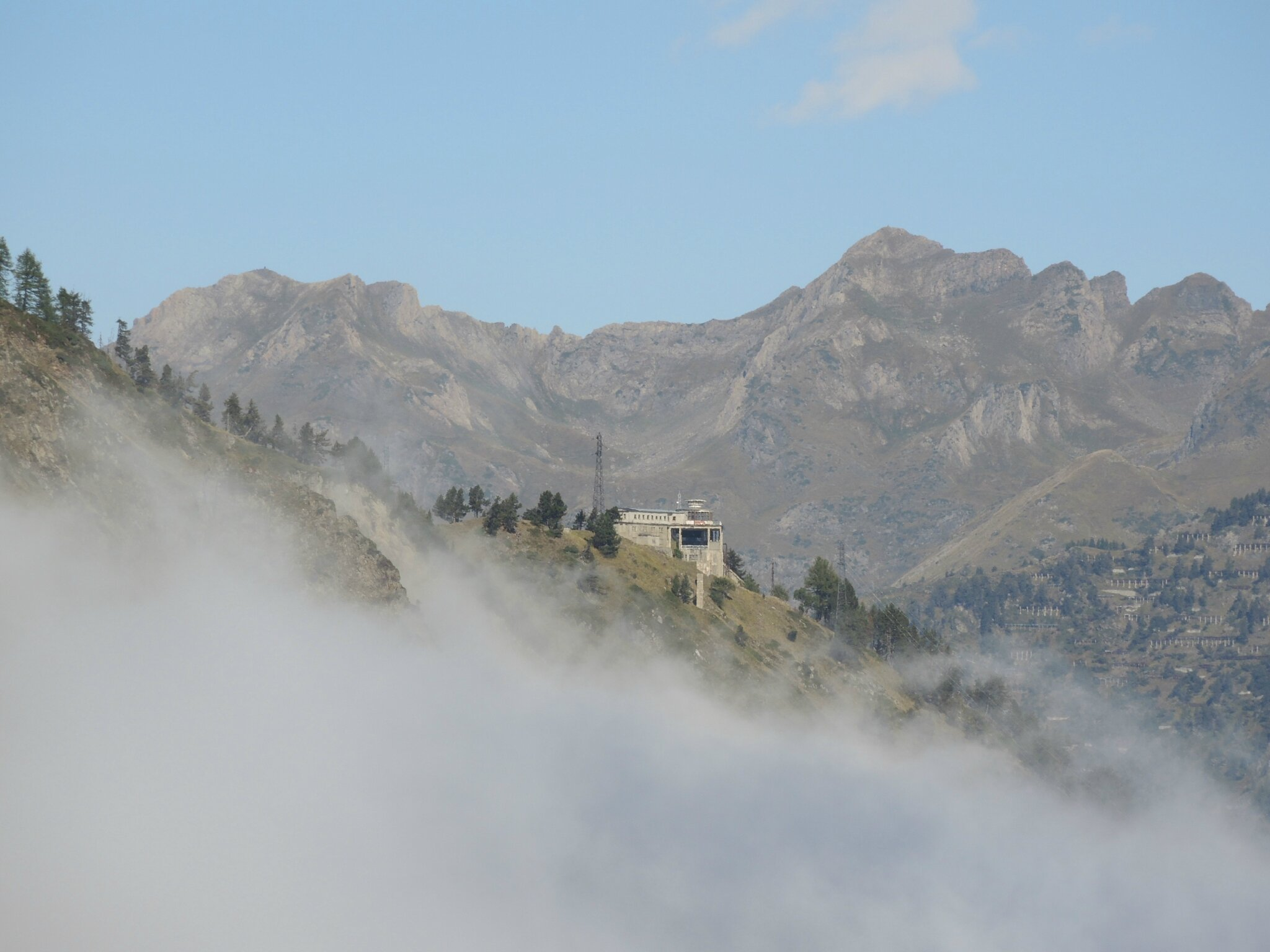 Vallée de la Glère, funiculaire de la Solitude et brouillard (65)