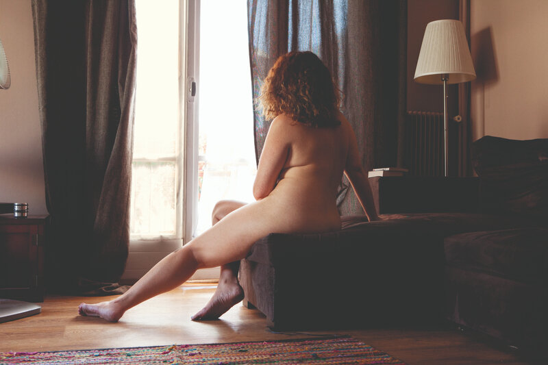 Simone Simon, Photographie extraite de la série Nu - Azadeh, 20192