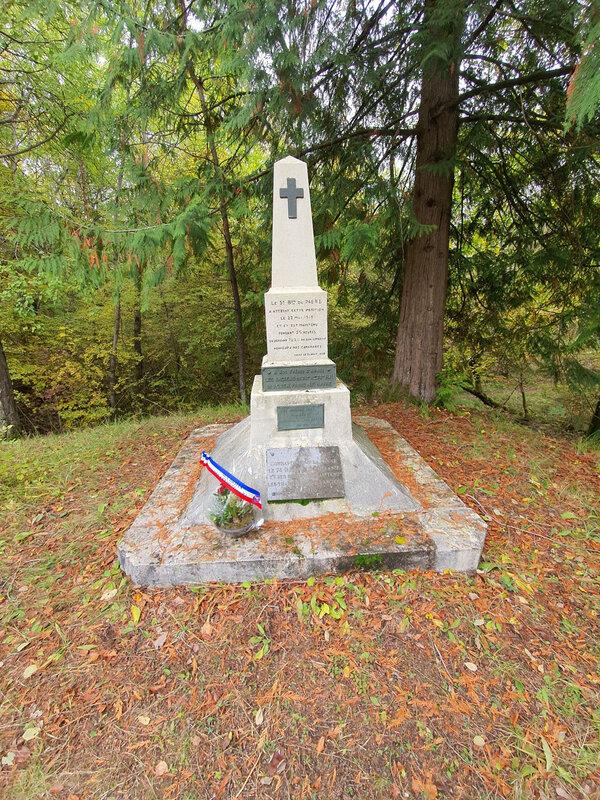 2020-10 - Monument du 3e bataillon (Giolat Jérôme) - 3