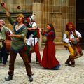 Les saltimbanques (Festival médiéval de Souvigny)